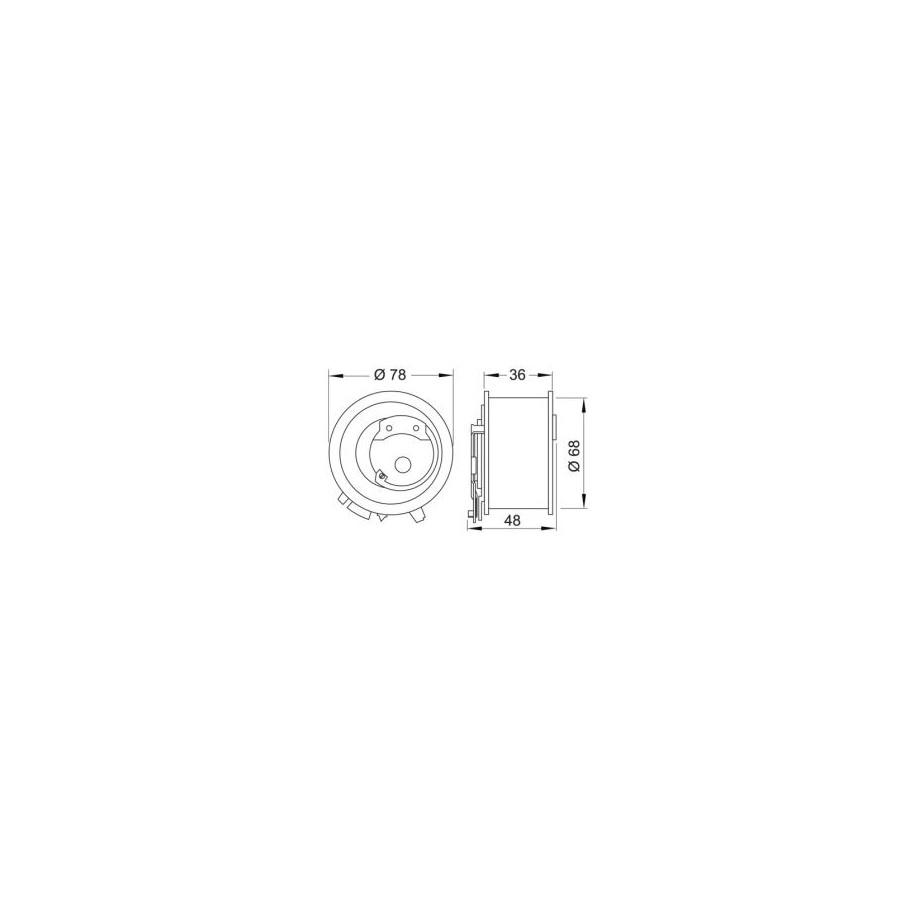 KIT PERNI TESTA MOTORE RENAULT CLIO II LAGUNA II MEGANE II SCENIC II 1.9 DCI M12X1,5 L121 torx
