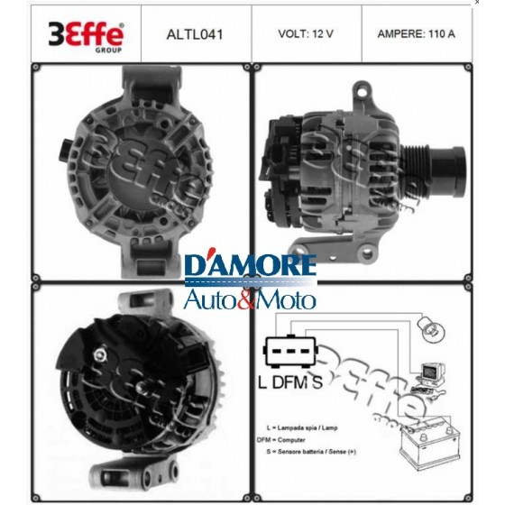ALTERNATORE HIUNDAY GALLOPER II (JK-01) 2.5 TD