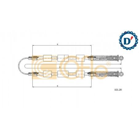 CUSCINETTO TENDICINGHIA ACCESSORI E65 H29 I17 ALFA ROMEO 147 156 FIAT BRAVO (182) DOBLO (119,223) MULTIPLA (186) PUNTO (188) ST