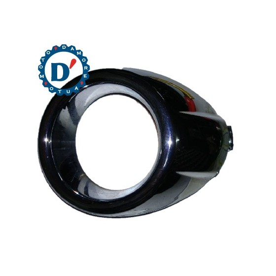 INTERRUTTORE MONOSTABILE ON OFF 12V 16A 3 PIN LUMINOSO BLU TONDO diam int 20mm