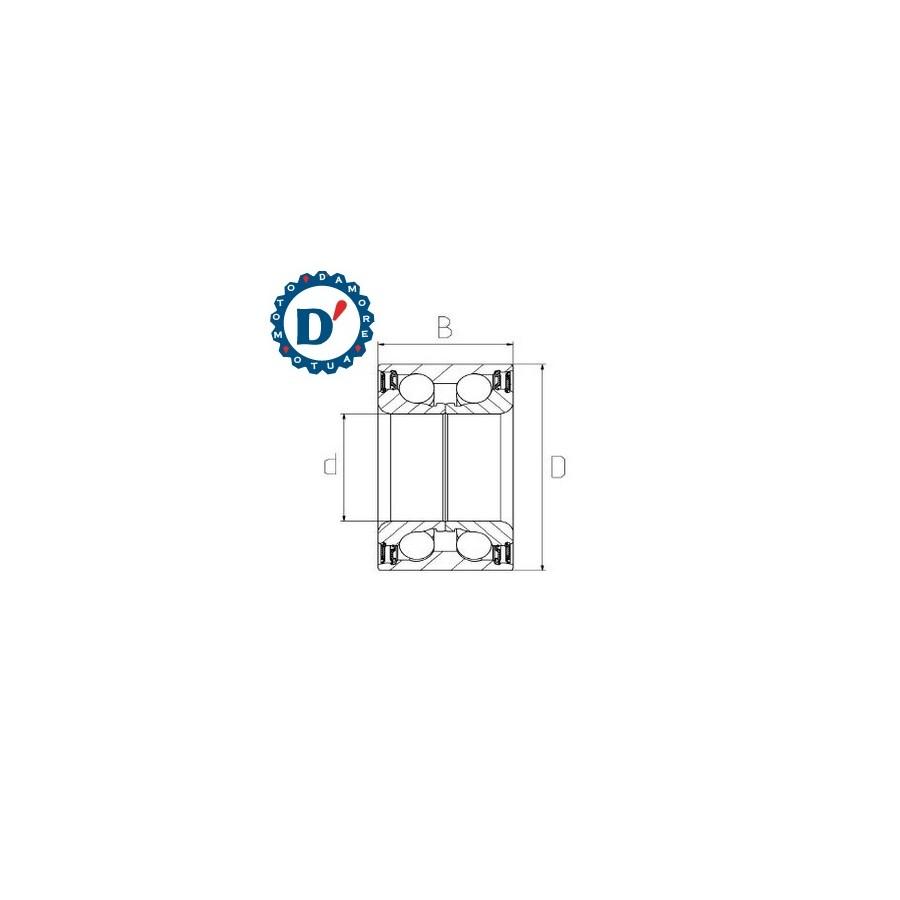 KIT PASTIGLIE FRENO IVECO DAILY II III ANTERIORI POSTERIORI S20 impianto BREMBO